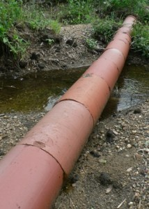 Clay Drainage Pipe